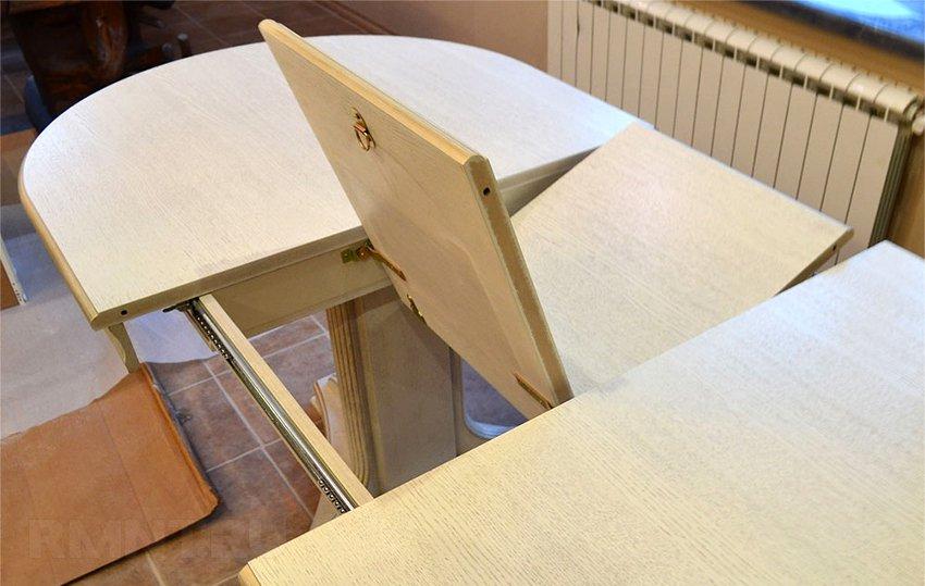 Стол раздвижной кухонный своими рук