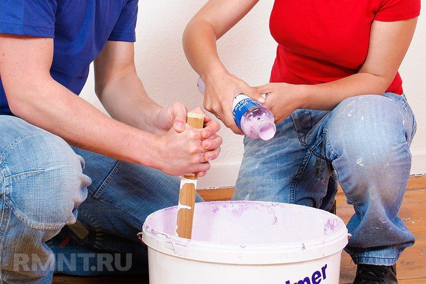 Как подобрать краску. Разбираемся в типах и особенностях применения