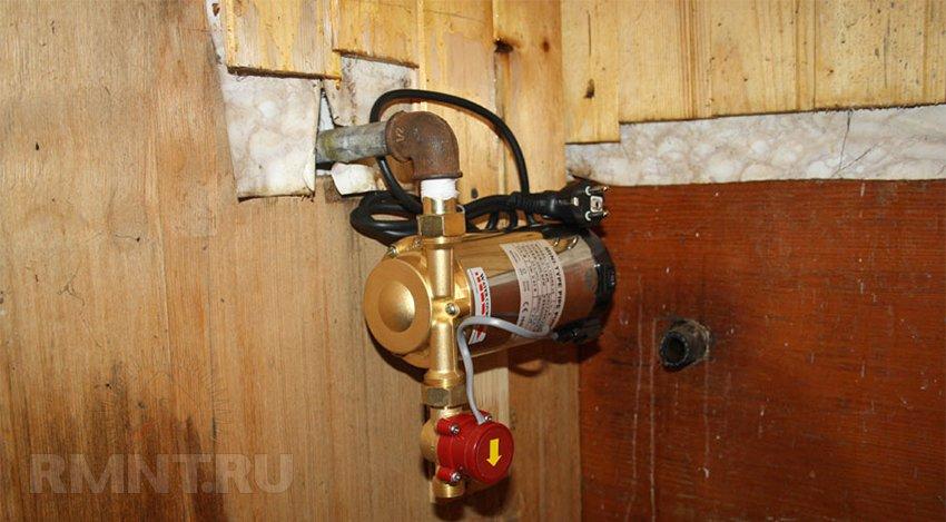 Повышение давления воды в доме