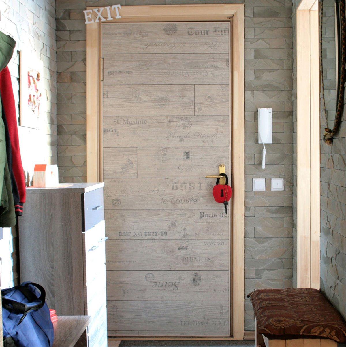 Как отделать металлическую дверь ламинатом