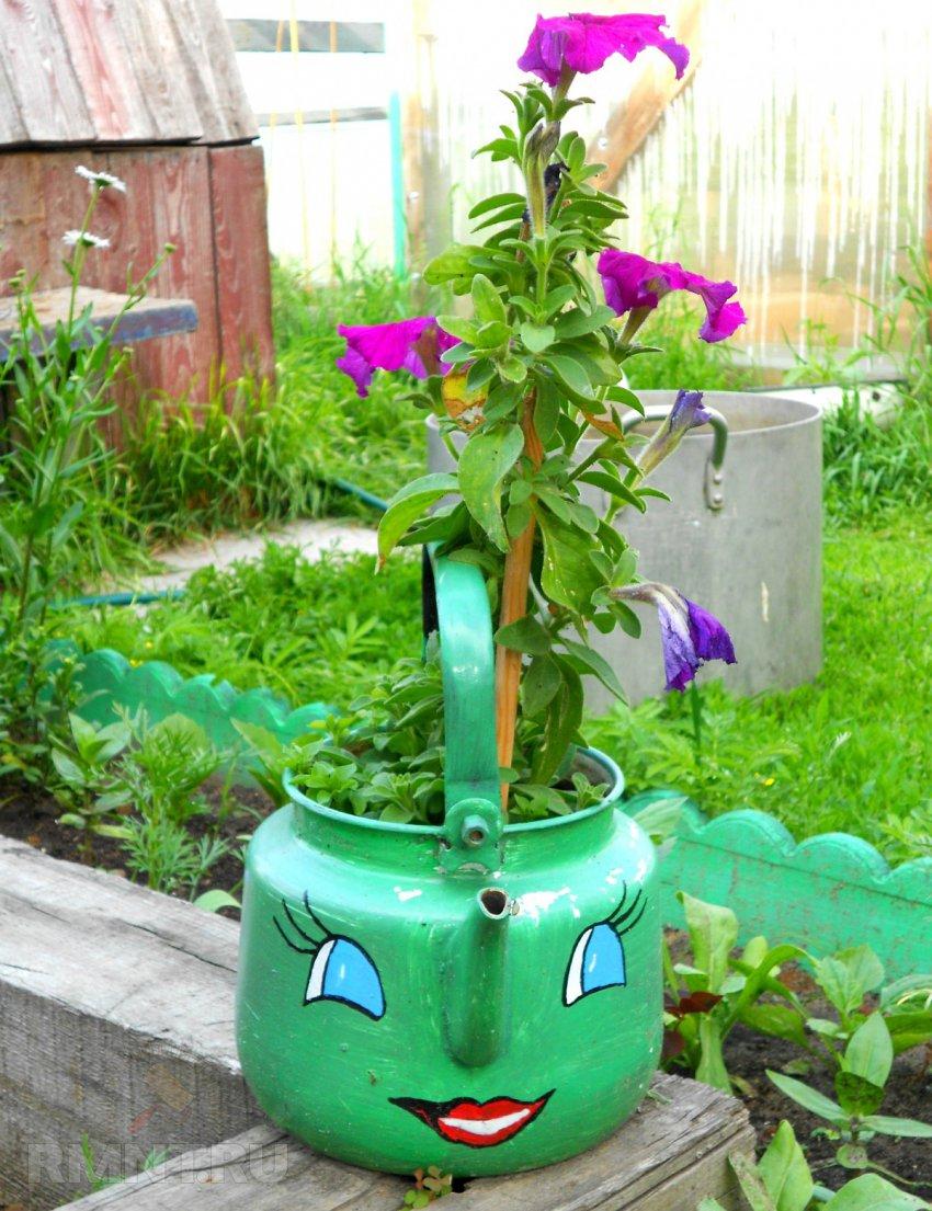 Как своими руками сделать поделки для сада и огорода своими руками