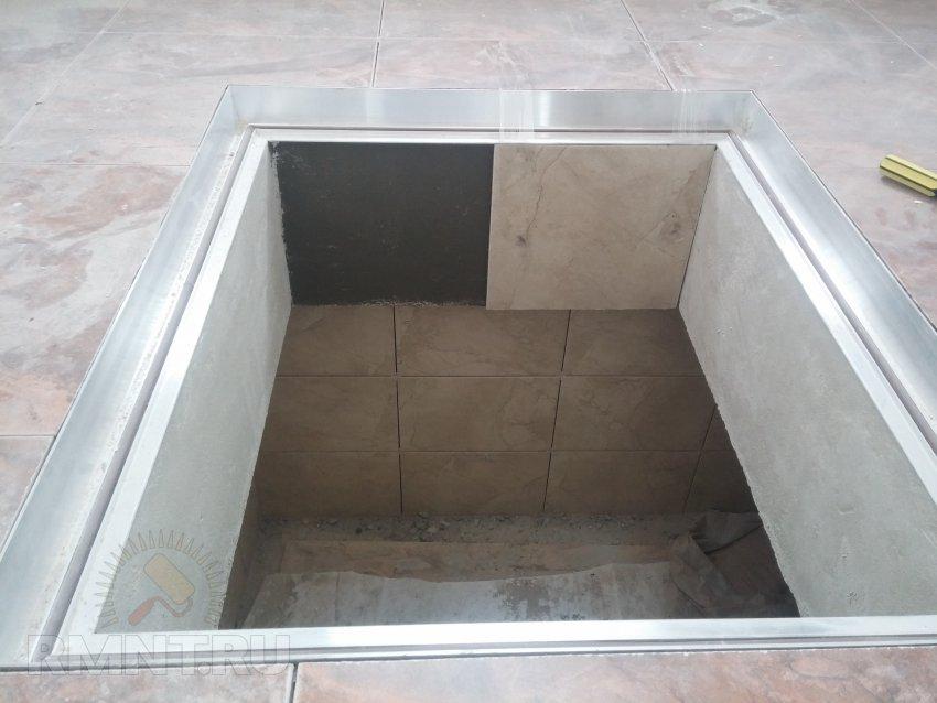 Скрытый люк в погреб: монтаж и отделка