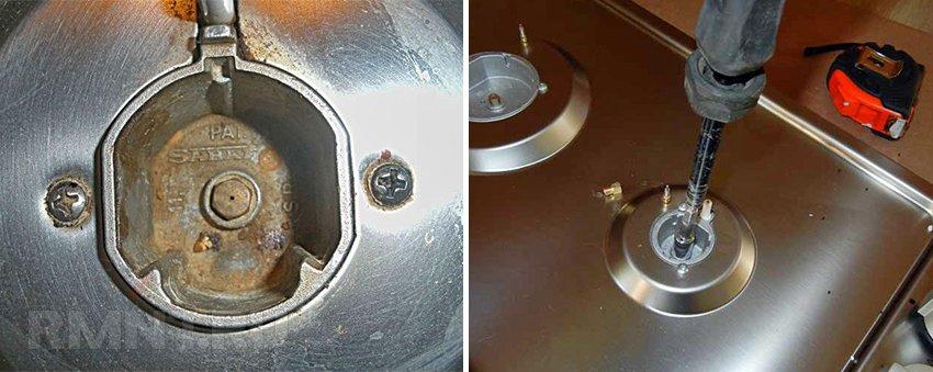 Замена жиклеров на газовой плите