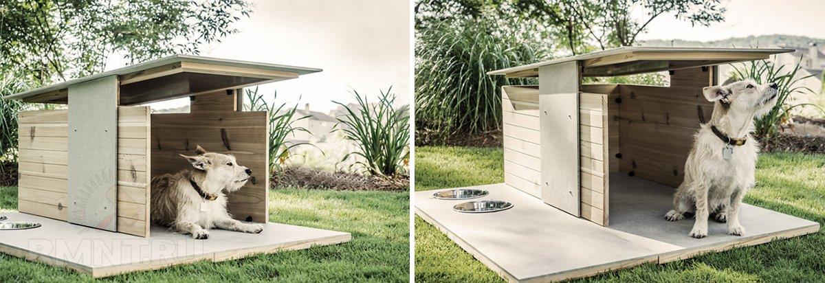 Собачий дом Puphaus от Pyramd Design Co