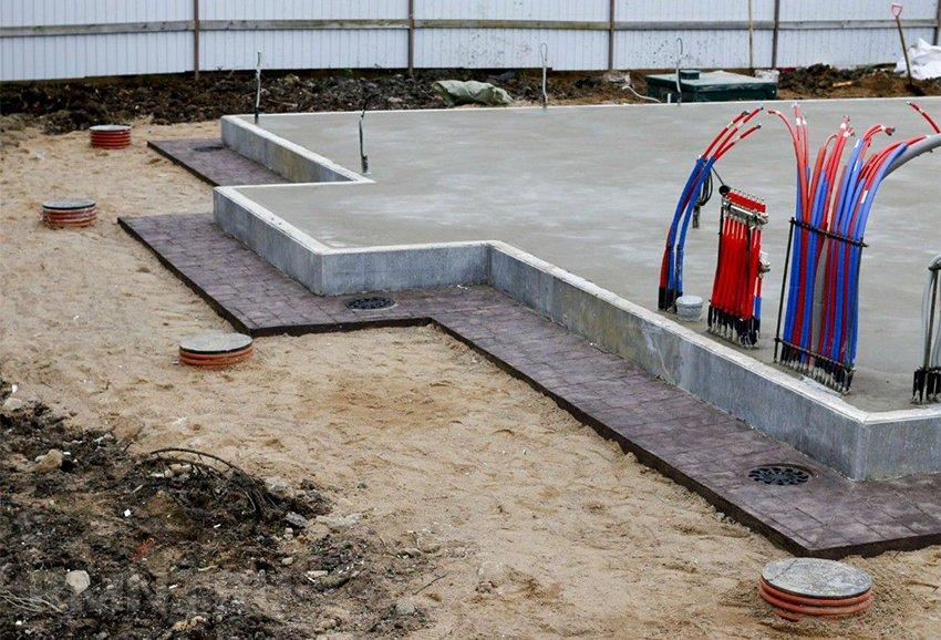 Как сделать ливневку из бетона