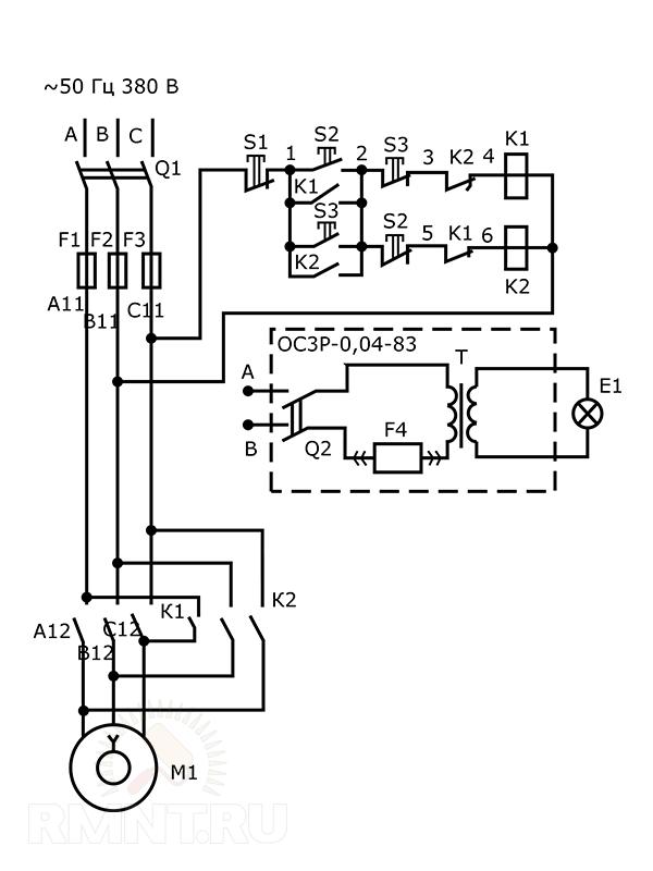 Электросхема 2М112