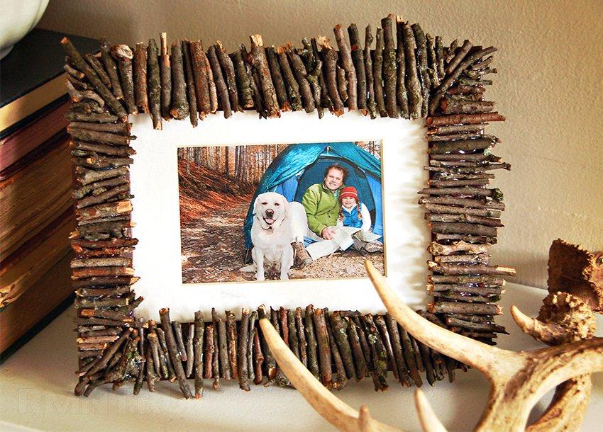 Рамки для фото своими руками из подручных материалов 14