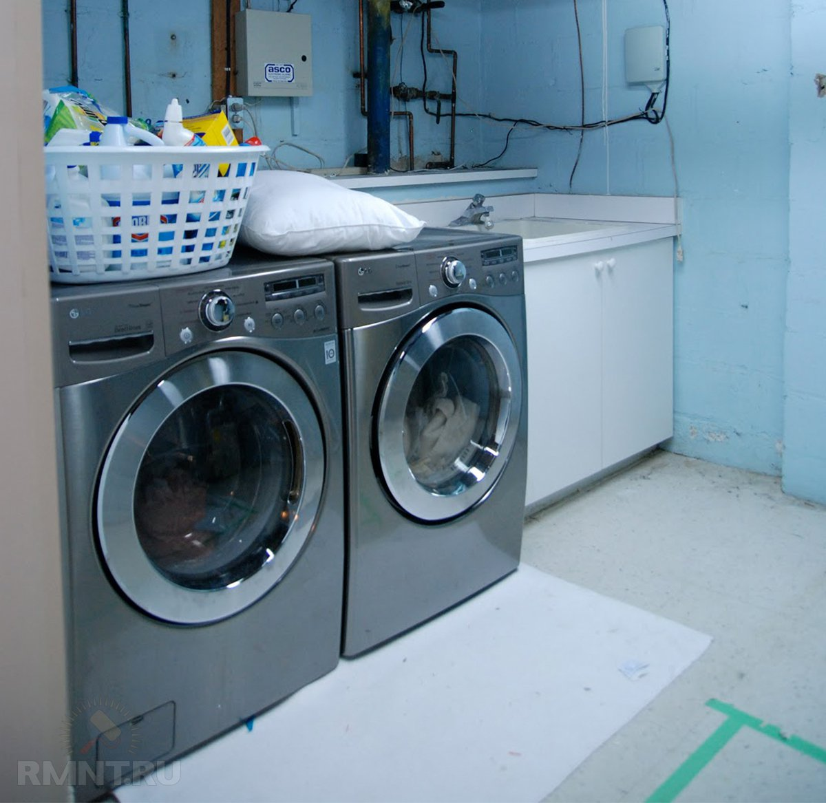 Прачечная в частном доме: примеры и особенности обустройства