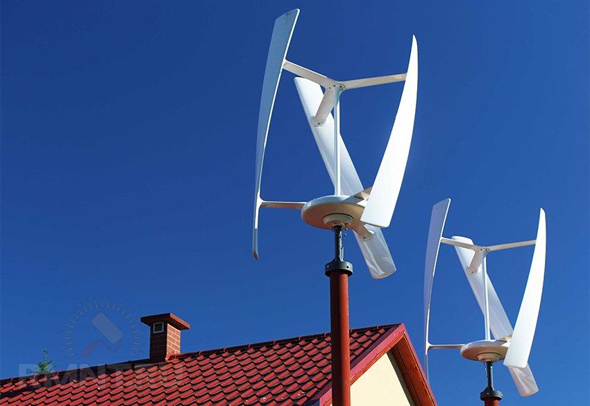 Электричество от ветра своими руками
