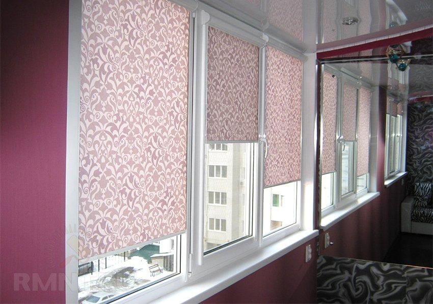 Шторы на пластиковые окна