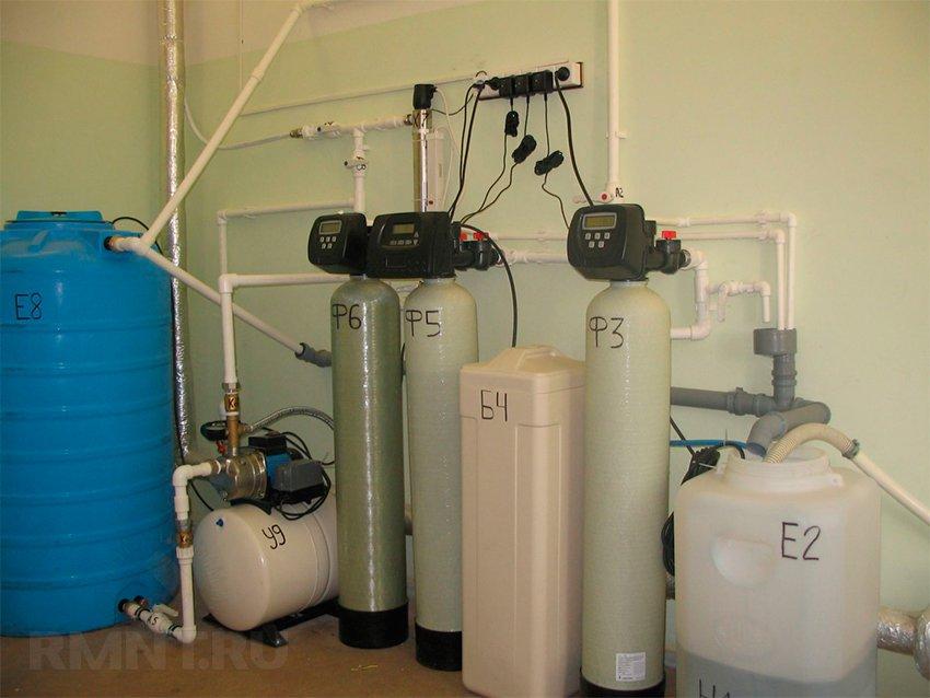 Схемы водоснабжения частного дома из скважины