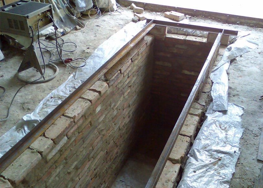 Яма в гараже из бетона своими руками 224