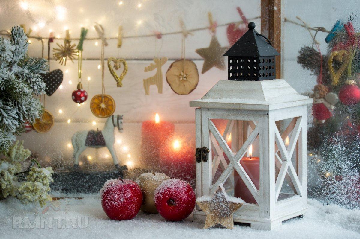 Идеи новогоднего декора из продуктов