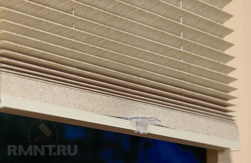 Плиссе шторы своими руками