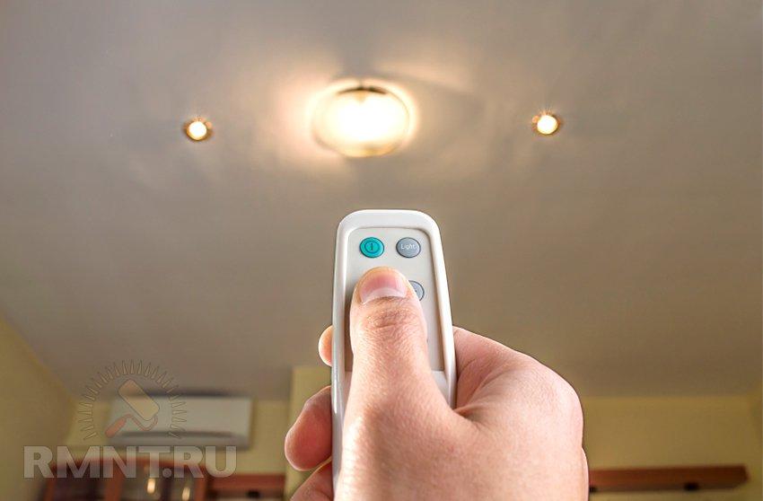 Выбор лампы для освещения