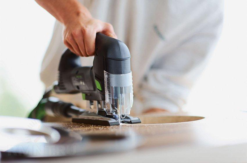 Как и чем пилить фанеру и ДСП без сколов: прямой и фигурный рез