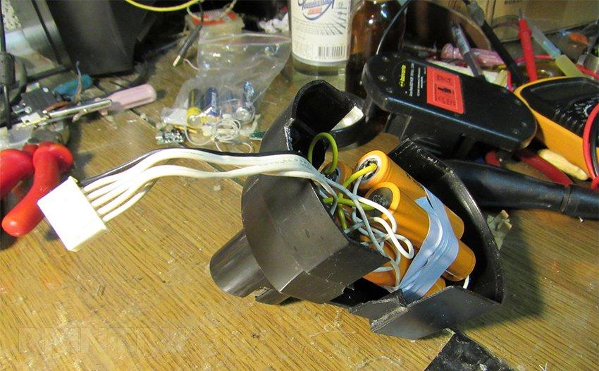 Переделка и ремонт аккумуляторов шуруповёрта