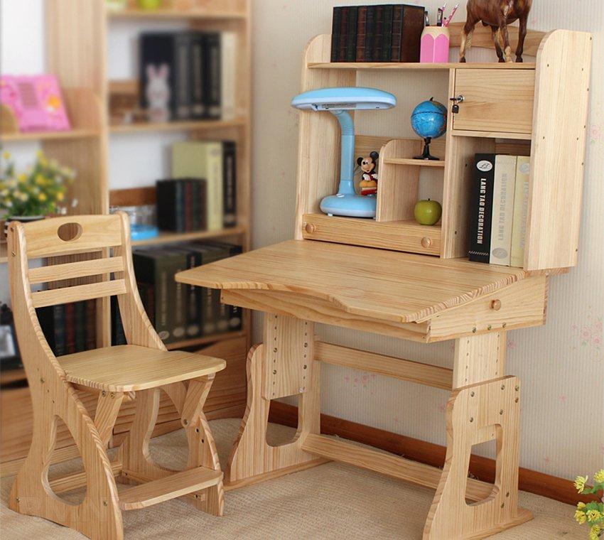 Деревянный стол детский своими руками