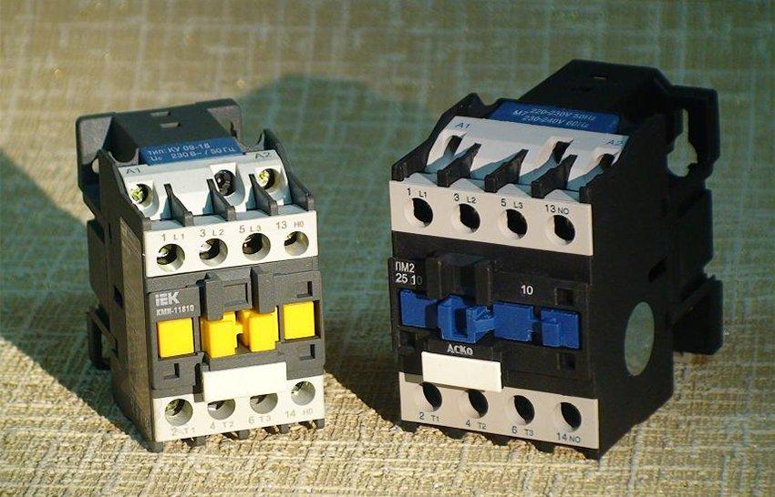 Модульный электромагнитный пускатель