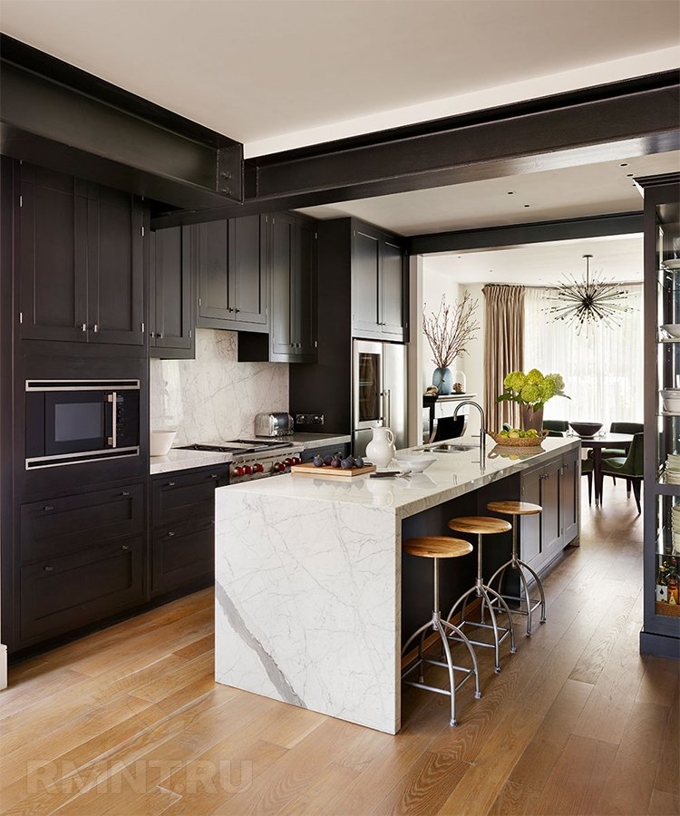 Выбираем оптимальные размеры кухонного острова