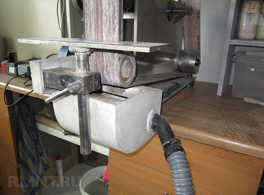 Самодельный пылеуловитель для станка