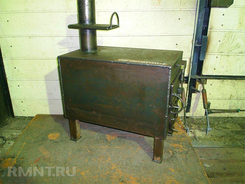 Печка своими руками для гаража