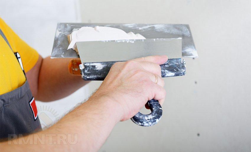 Декоративная штукатурка для стенок из, как все знают, обыкновенной шпаклевки своими руками