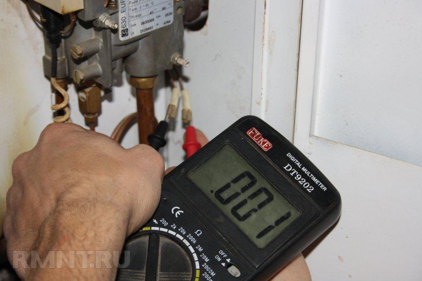 Эдс термопары газового котла