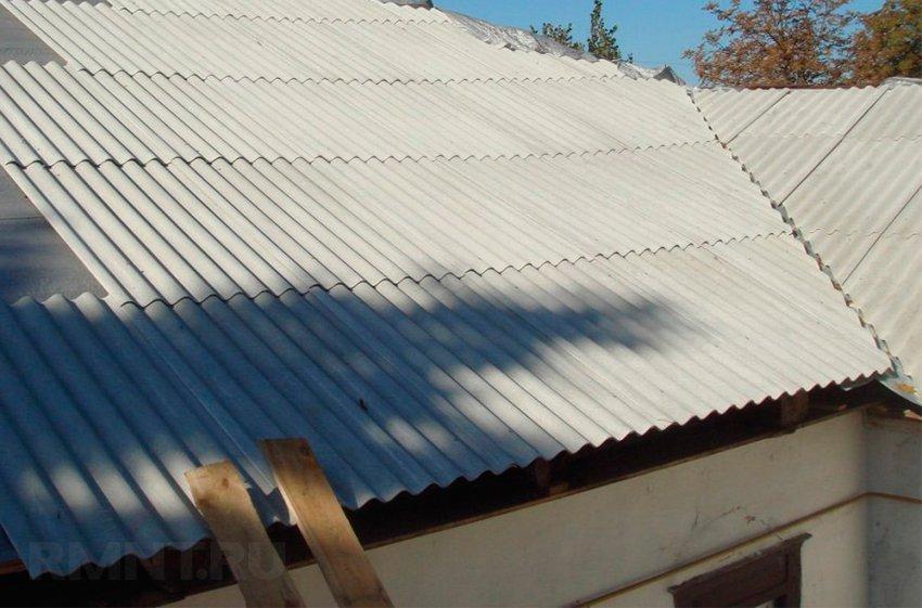 Шиферная кровля: как покрыть крышу шифером