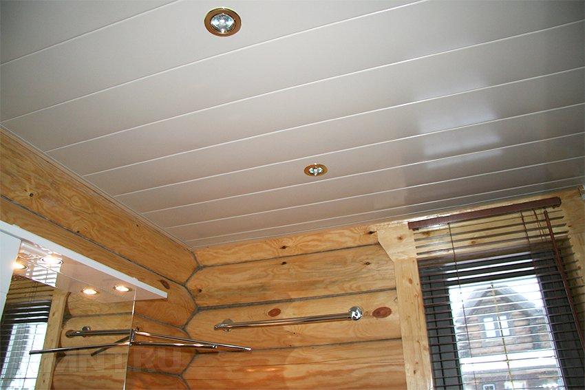 Потолок из панелей своими руками - как обшить потолок 30