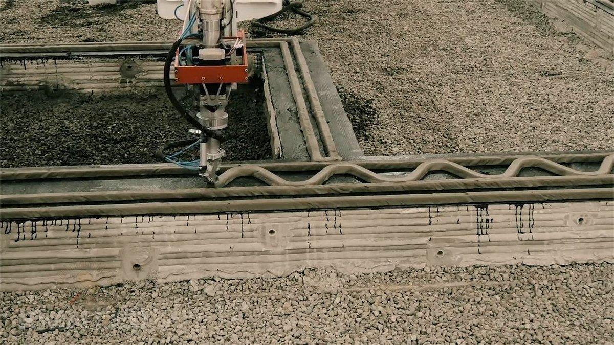3D-печать в строительстве зданий