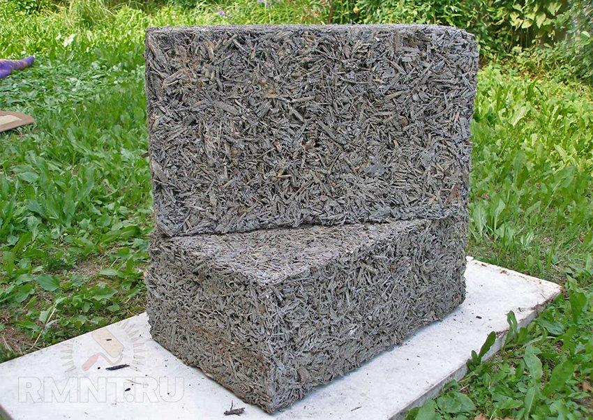 Арболит и опилкобетон – в чём разница. Как сделать несущие стены из арболита