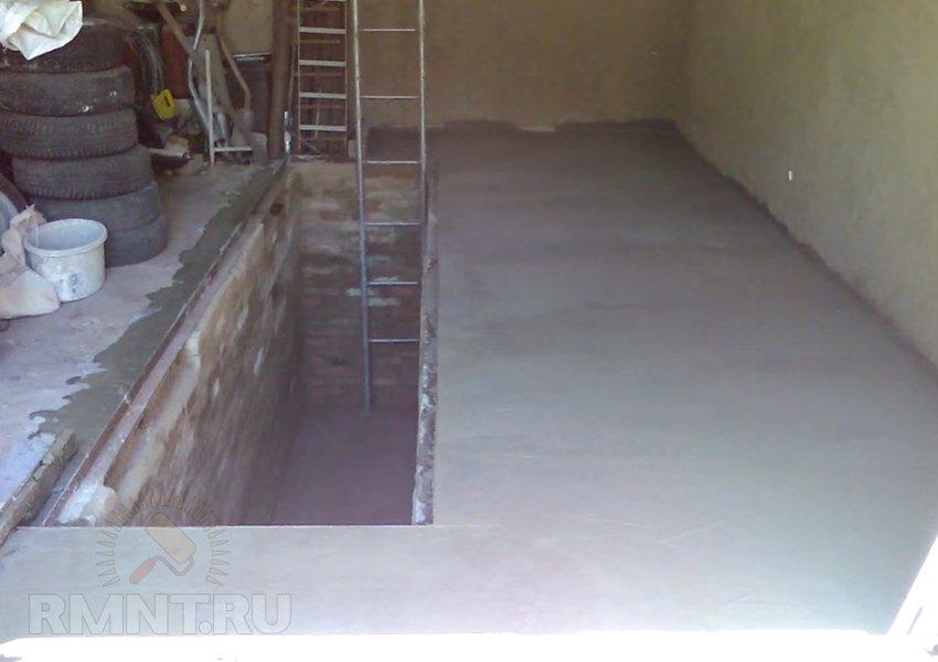 Смотровая яма в гараже: особенности обустройства