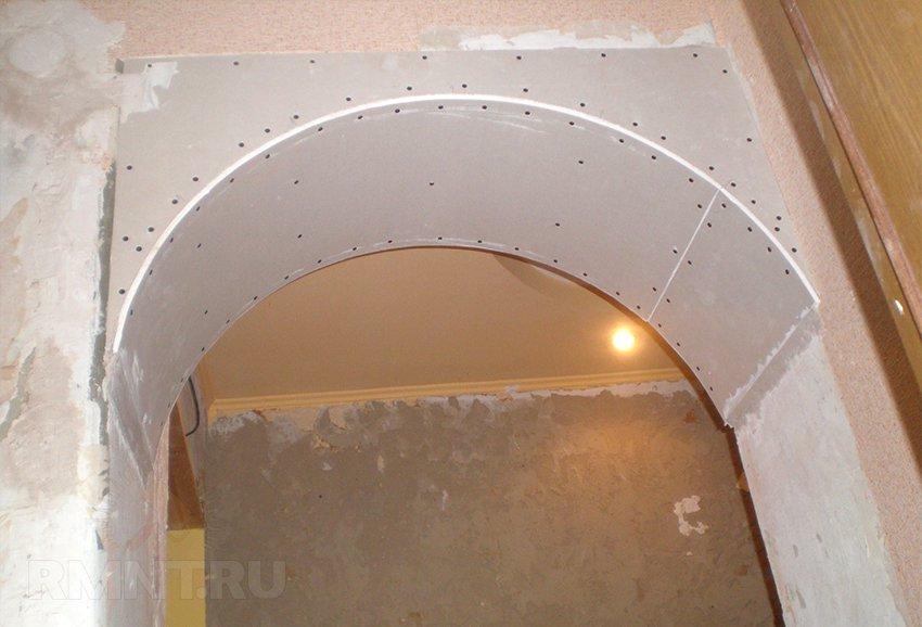 Как сделать дверные проемы гипсокартон