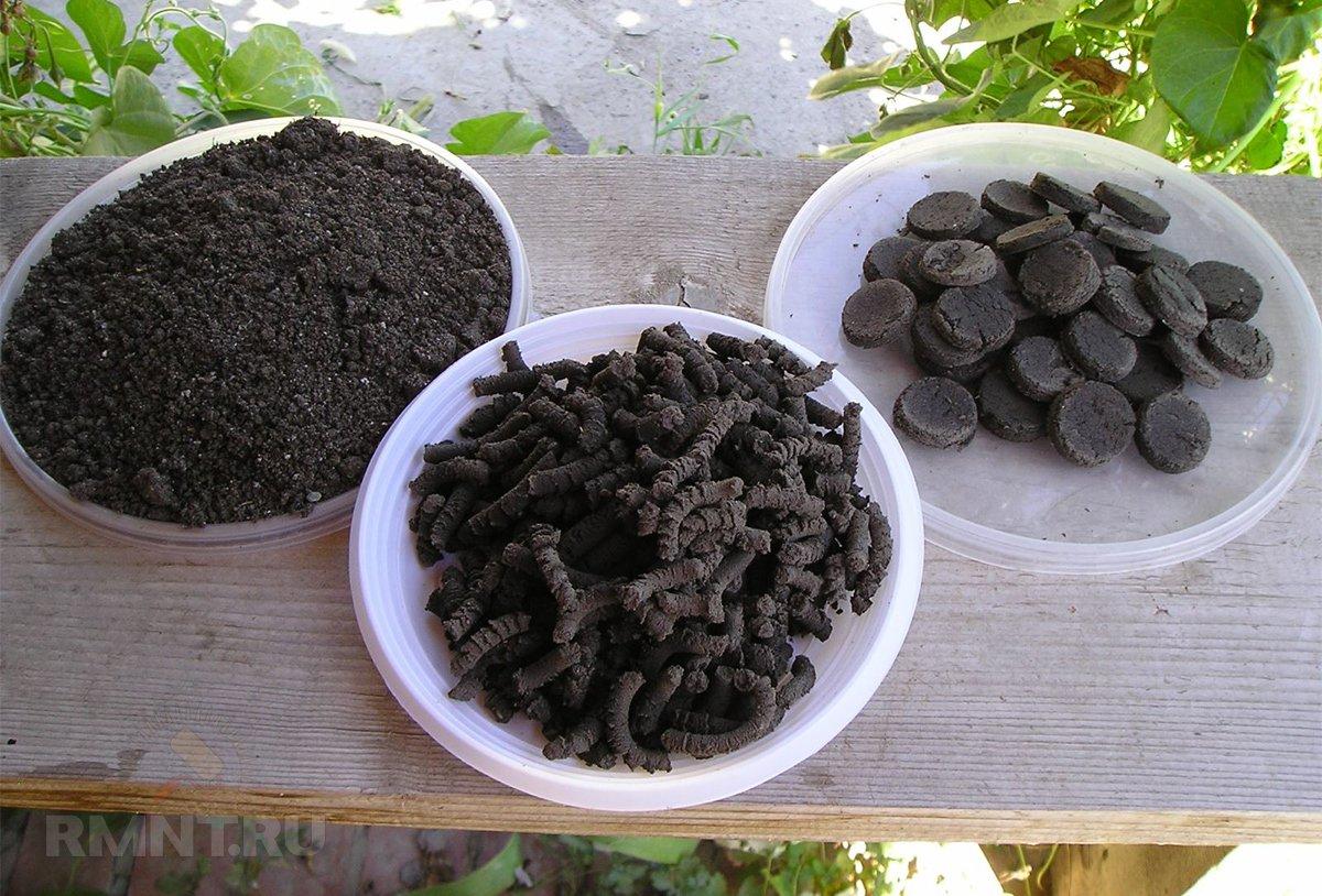 Природное удобрение сапропель