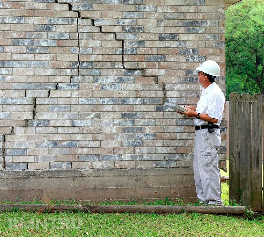 Как заделать трещину в стене квартиры и панельного дома