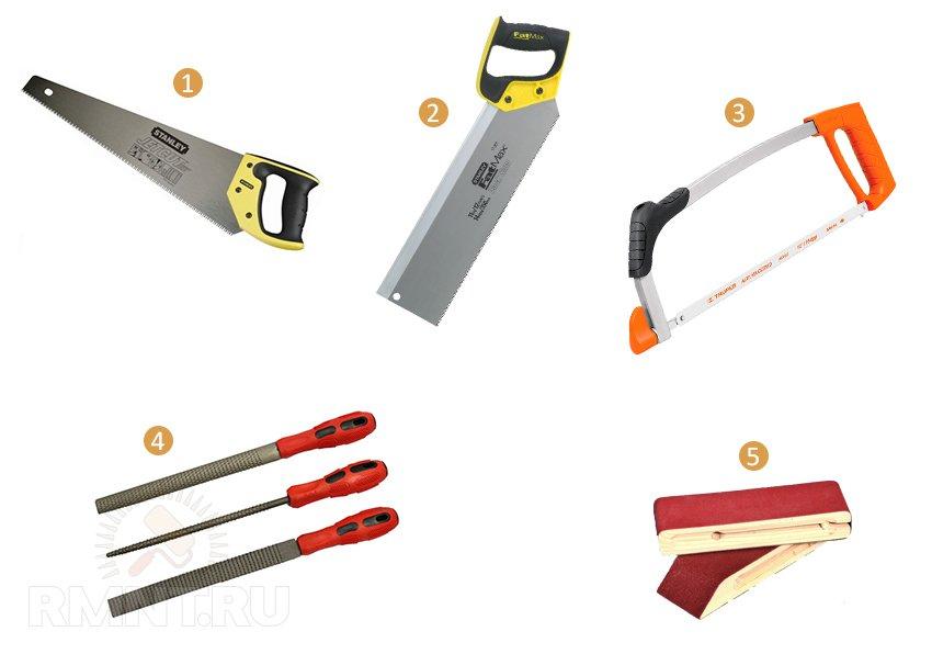 Инструменты для резки по дереву