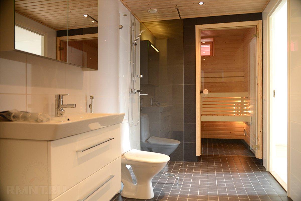 ванна сауна в квартире