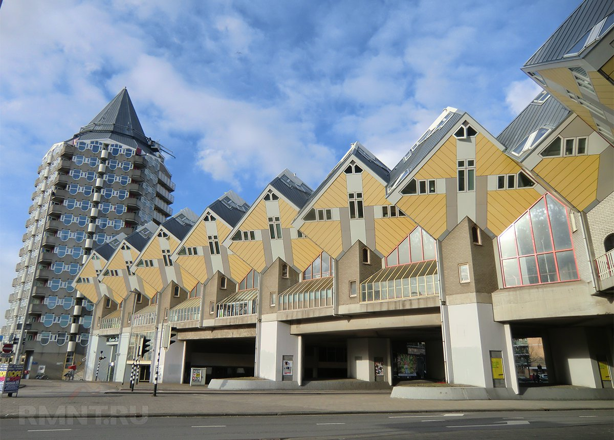 Дом из кубиков, Роттердам