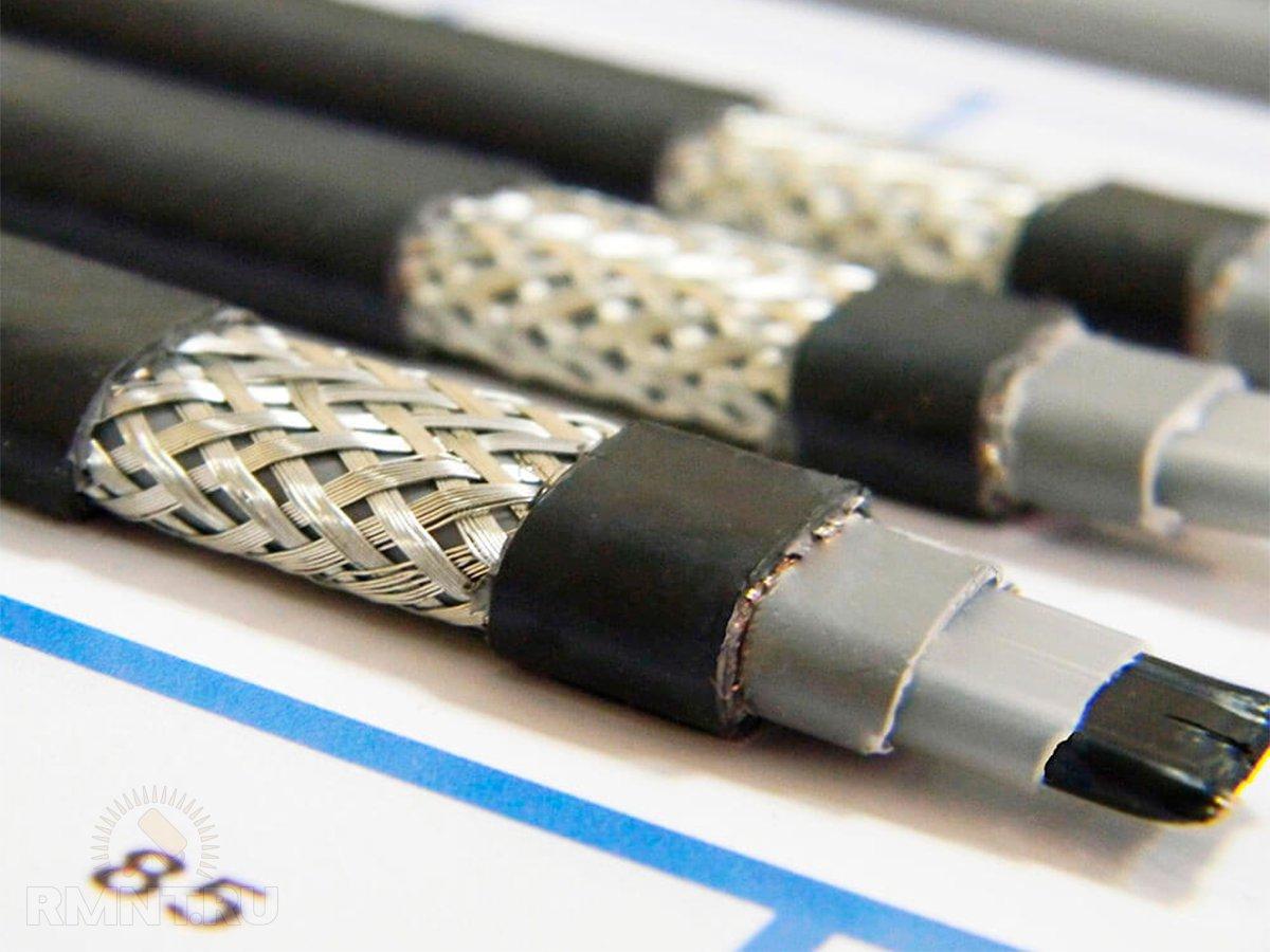 Греющий кабель: сфера применения, виды, монтаж