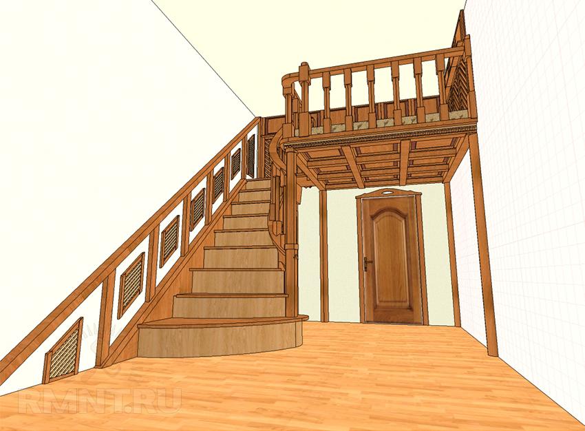 Программа расчета деревянных лестниц скачать