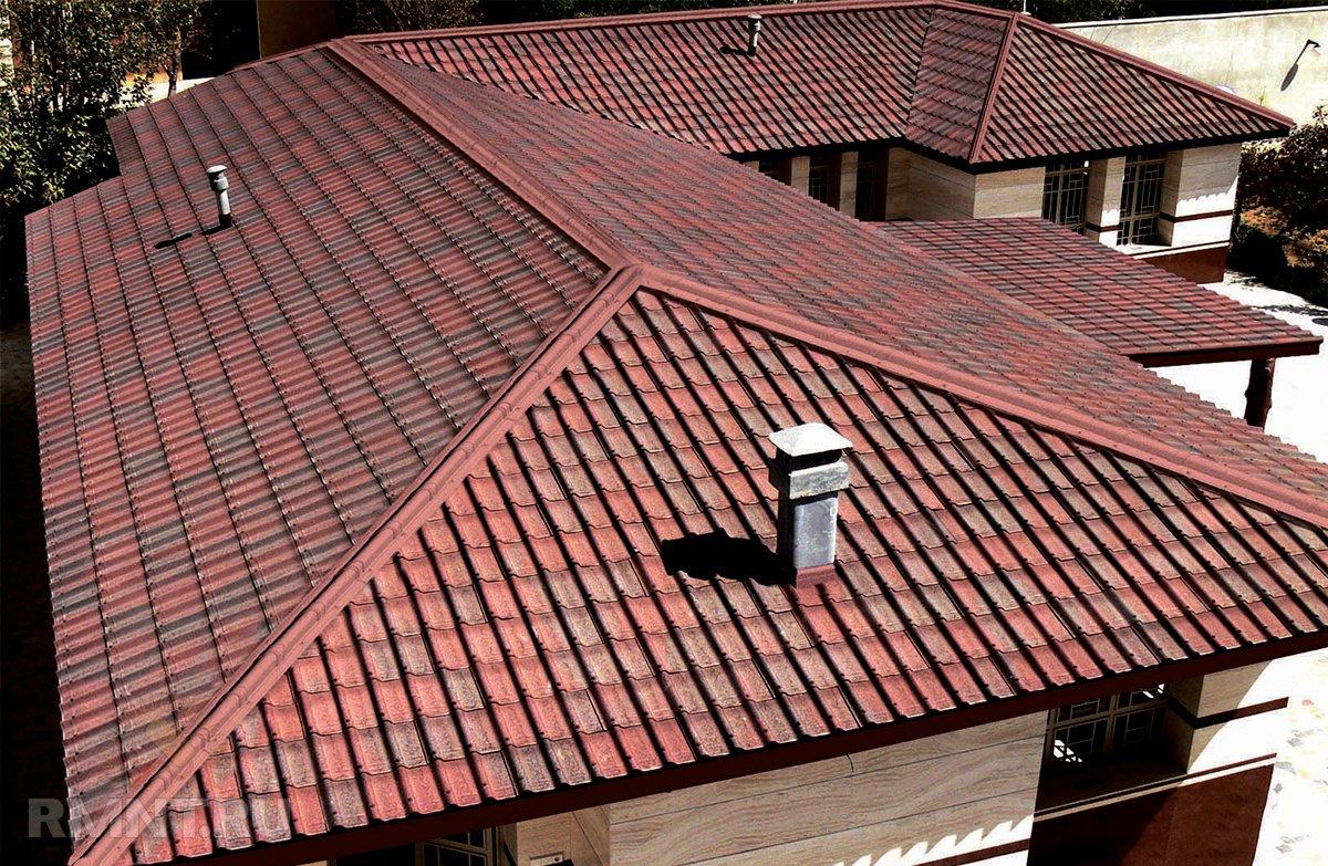 Крыши перекроют ондулином своими руками