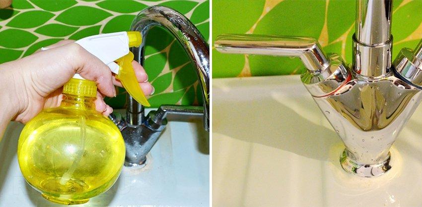Как отмыть унитаз и раковину от ржавчины и очистить от известкового налёта