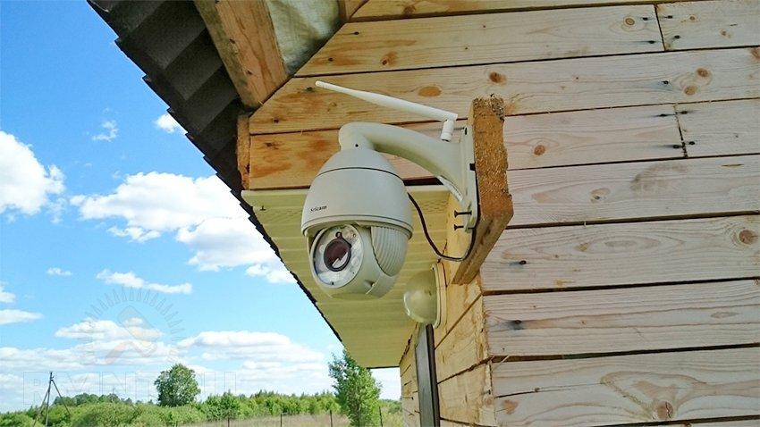 Организация видеонаблюдения на даче своими руками 17