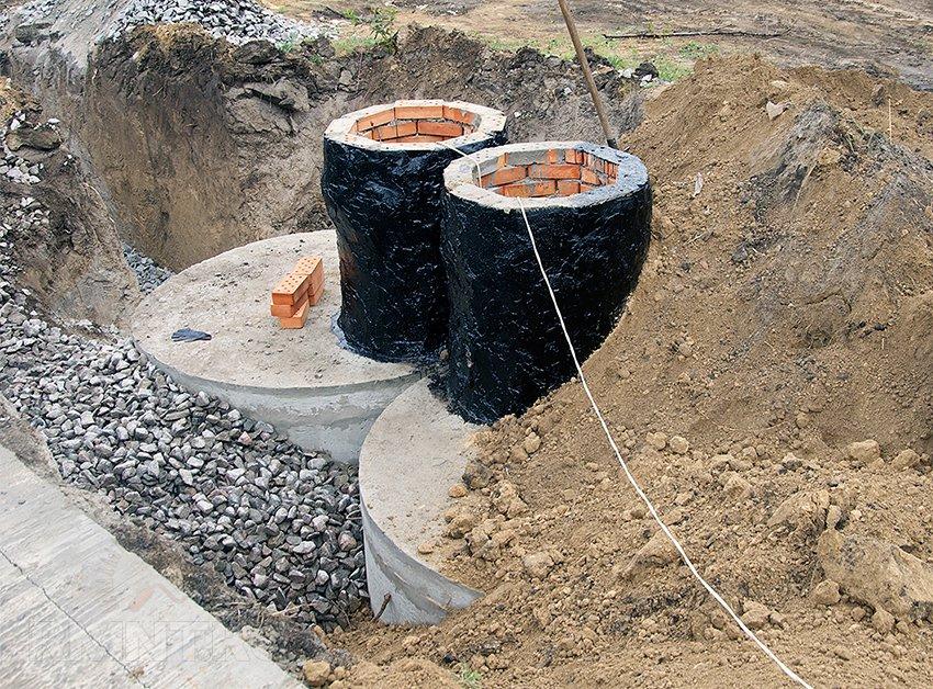Как сделать из колец бетонных 222