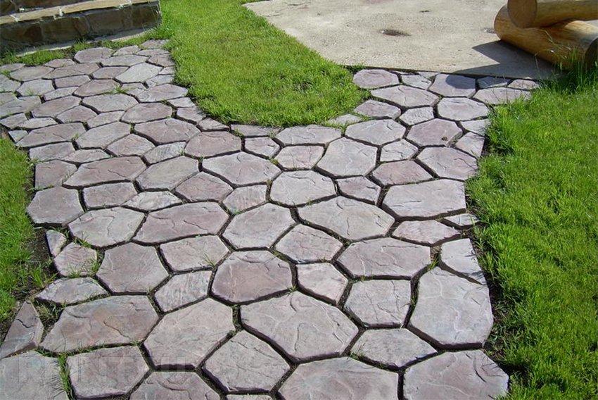 Садовые дорожки своими руками тротуарная плитка
