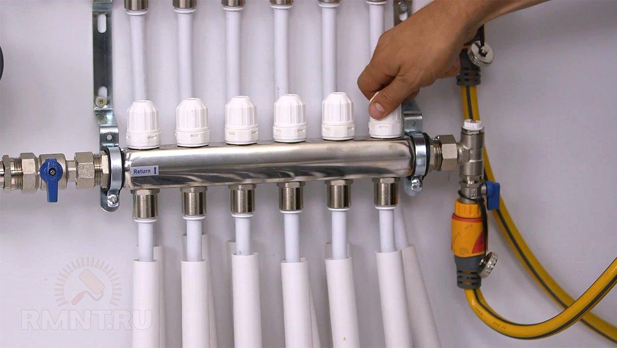 Пример расчета двухтрубной системы отопления