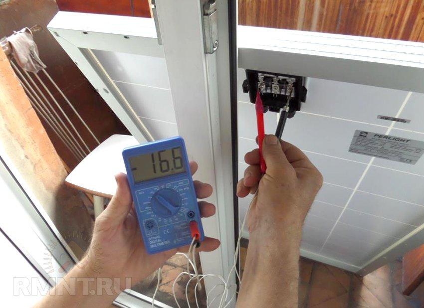 Монтаж солнечных панелей и