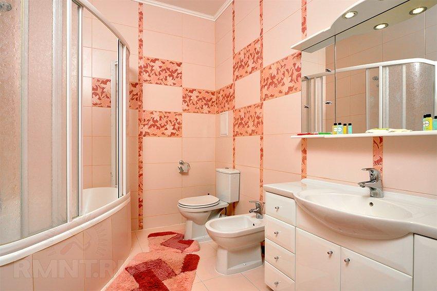 Расстояния в ванной комнате