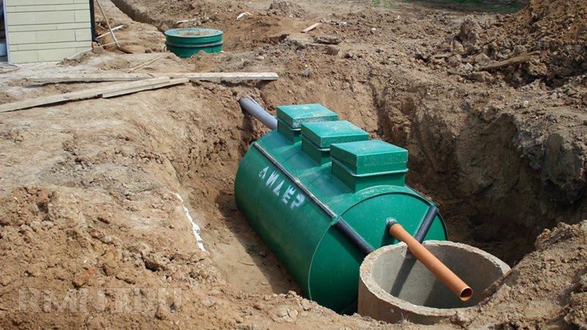Монтаж автономной канализации своими руками